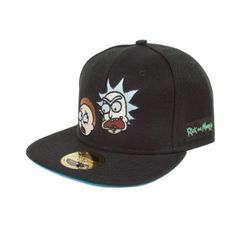 Rick And Morty Erwachsenen Unisex Official Faces Snapback Kappe