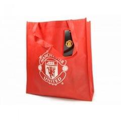 Manchester United FC Offizielle Mehrweg Tasche mit Wappen
