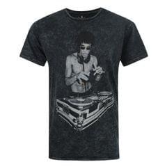 Avengers offizielles Herren Tony Stark Mineral Wash Bruce Lee DJ T-Shirt