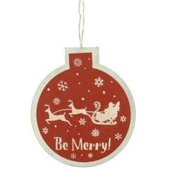 Christmas Shop Kugel Schild Dekoration