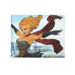 DC Comics Bombshells Unisex Supergirl-Geldbeutel