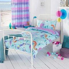 Riva Home Mädchen Meerjungfrau Bettwäsche Set