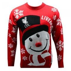 Liverpool FC Novelty Weihnachtspullover