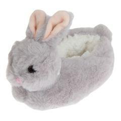 Slumberzzz Kinder flauschige Bunny Hasen Hausschuhe