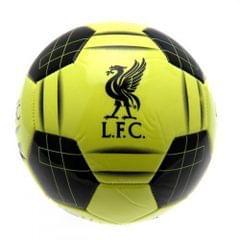 Fußball mit Liverpool FC Design, neongelb