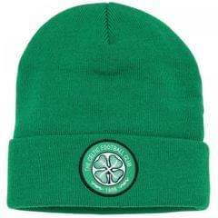 Unisex Winter Beanie / Strickmütze mit Fußball Design Celtic FC
