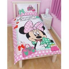 Disney Minnie Mouse Mädchen Wendebettwäsche Makeover