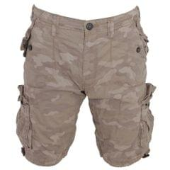 Brave Soul - Short multi-poches camouflage - Homme