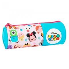Disney Childrens/Girls Official Tsum Tsum Barrel Pencil Case