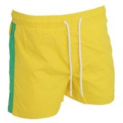 Brave Soul Mens Swimming Shorts With Side Stripe And Drawcord