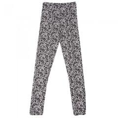 Childrens Girls Thermal Floral Mosaic Pattern Long Janes