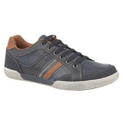 Route 21 Mens 6 Eye Lace Up Memory Foam Leisure Shoes