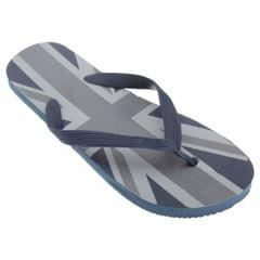 FLOSO Mens Union Jack Design Great Britain Summer Wear Flip Flops