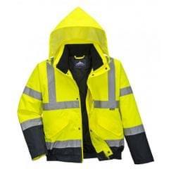 Portwest Unisex Hi-Vis Bomber Jacket (S463) / Workwear / Safetywear
