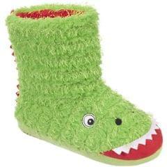 Trespass Childrens/Boys Dino Novelty Boot Slippers