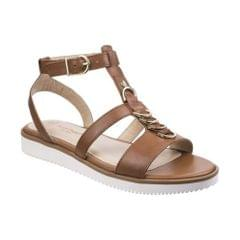 Hush Puppies Womens/Ladies Briard Ring T Strap Leather Sandals