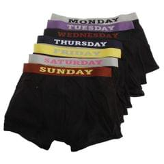 Mens Days Of The Week Boxer Shorts / Underwear (Pack Of 7)