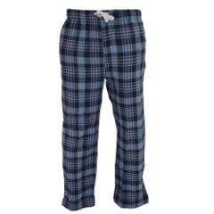 Cargo Bay Mens Cotton Check Pajama Bottoms / Lounge Pants