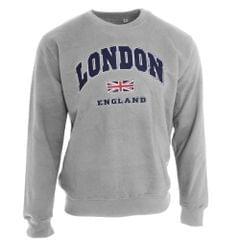 Unisex Sweatshirt London England British Flag Design