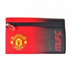 Manchester United FC Official Childrens/Kids Fade Flat Pencil Case