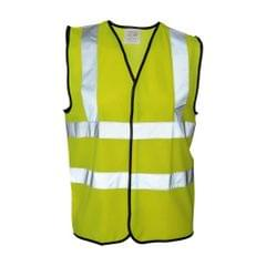 Absolute Apparel Mens Hi Vis Waistcoat