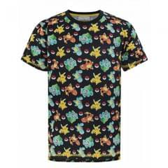 Pokemon Childrens/Boys Official Starter Characters Sublimation T-Shirt
