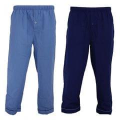 Walter Grange Mens Traditional Pyjama Bottoms Twin Pack