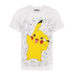 Pokémon - T-shirt Pikachu - Enfant