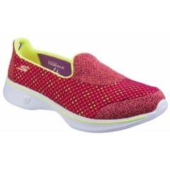 Skechers Womens/Ladies SK14145 Go Walk 4 Kindle Slip On Shoes