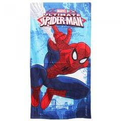 Marvel Childrens Boys Ultimate Spiderman Printed Velour Beach Towel