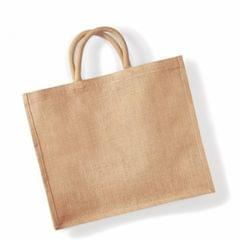 Westford Mill Jumbo Jute Shopper Bag (29 Liters)