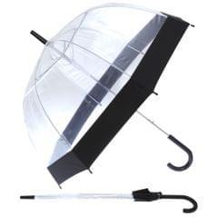 Womens/Ladies Dome Transparent Walking Umbrella