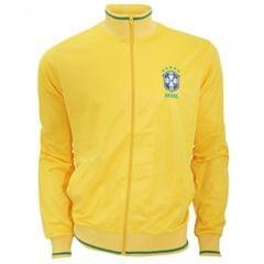 Brasil CBF Mens Official Athletic Soccer/Football Crest Jacket
