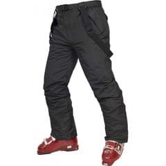 Trespass Youths Boys Glasto Zip Up Padded Waterproof Ski Trousers