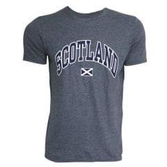 Mens Scotland Print Short Sleeve T-Shirt
