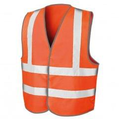 Result Mens Core High-Visibility Safety Motorway Vest