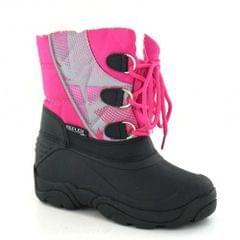 Cutie Girls Lace Up Reflex Snow Boots