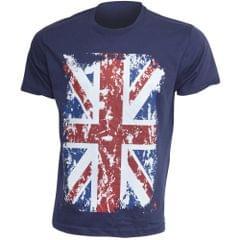 Mens Union Jack Print Short Sleeve T-Shirt