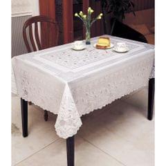 Embossed Vinyl Waterproof Square Tablecloth