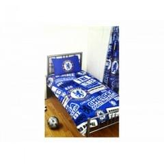 Chelsea FC Official Soccer Patch Twin Duvet And Pillow Case Set