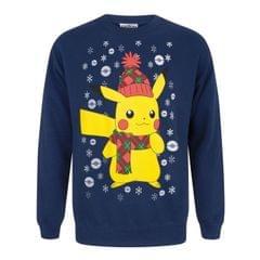 Pokemon Mens Pikachu Christmas Sweater