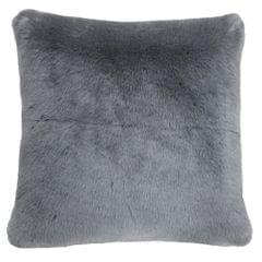 Riva Home Russ Faux Fur Square Cushion Cover