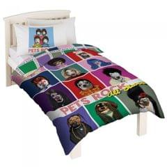 Pets Rock Childrens/Kids More Fun Than Fame Duvet Cover Bedding Set