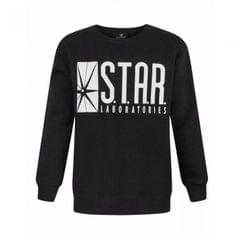 DC Comics Childrens/Boys Official Flash TV Star Laboratories Sweatshirt