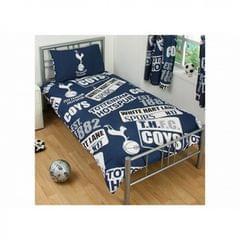 Tottenham Hotspur Patch Single Duvet And Pillow Set