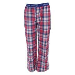 Forever Dreaming Womens/Ladies Checked Pajama Bottoms