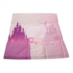 Disney Princess Sparkle Childrens Girls Square Pillowcase