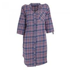 Follow That Dream Womens/Ladies Yarn Dyed Check Night Shirt
