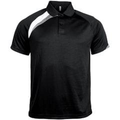 Kariban Proact Mens Short Sleeve Quick Dry Polo Shirt