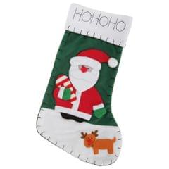 Snowman/Santa/Reindeer Design Felt Christmas Stocking